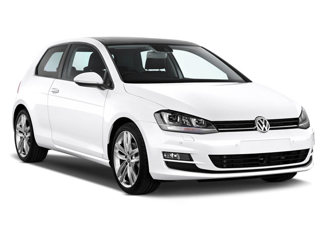 Rent a VW Golf TSI in Crete