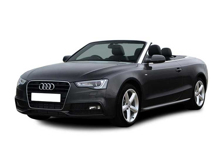 Rent a AUDI A5 2.0 CONVERTIBLE in Crete
