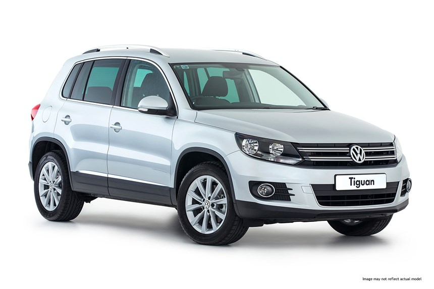 Rent a VW Tiguan in Crete